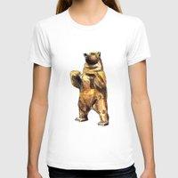 central park T-shirts featuring Central Park Bear by Piljam
