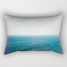 Big Blue Shot on Film Rectangular Pillow