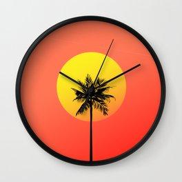 Cali Vice Wall Clock
