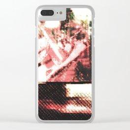Le Procope - Glitch 02 Clear iPhone Case