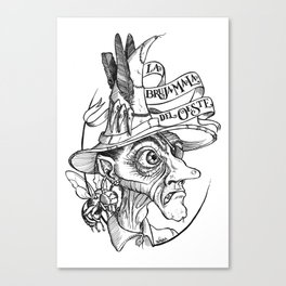 The Bad Witch of the West Canvas Print