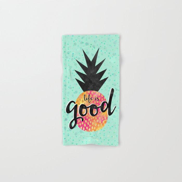 Life is good Hand & Bath Towel