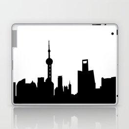 shanghai city skyline Laptop & iPad Skin