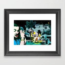 Wishfully proposed Framed Art Print