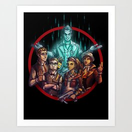 Tales from the Borderlands Art Print