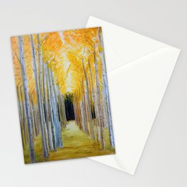 Trees' Path Stationery Cards