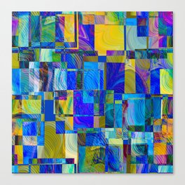Dreams of Quilts Canvas Print