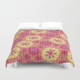 Kantha floral 7 Duvet Cover
