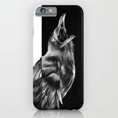 Crow and Full Moon Slim Case iPhone 6s