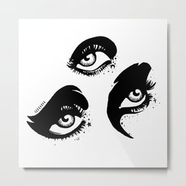 Third Eye Metal Print