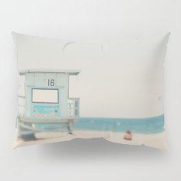 Santa Monica beach photograph Pillow Sham