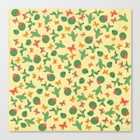 cactus Canvas Prints featuring Cactus by Kakel