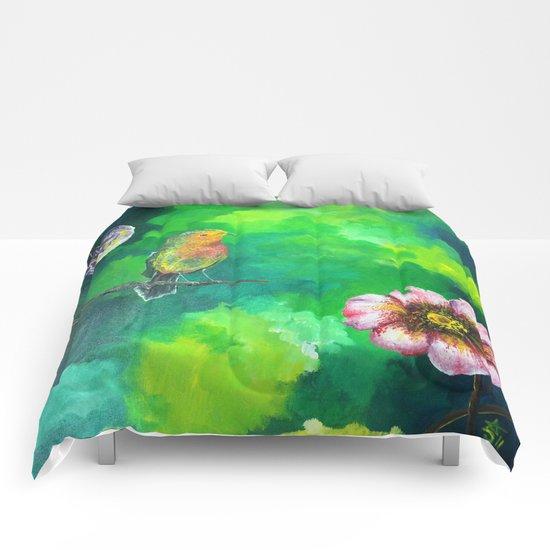 Birdy Dreams Comforters