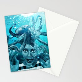 Underwater Nightmare Stationery Cards