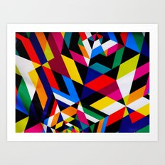 Colors and Design Art Print