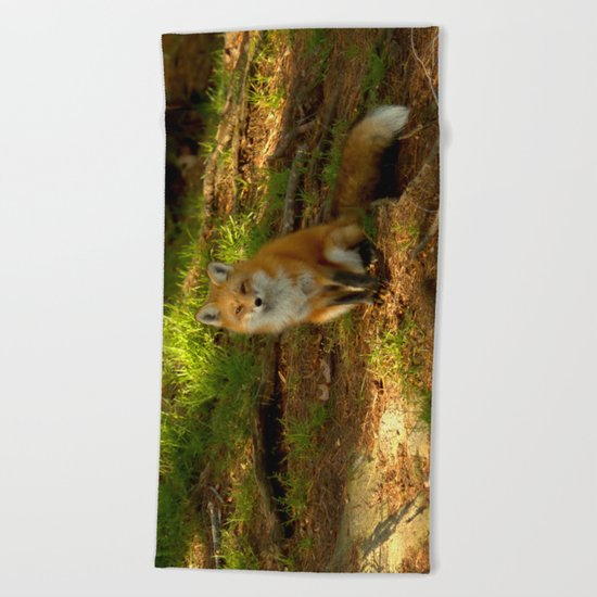 The look of love Beach Towel