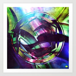 A Collusion of Malignant Isotopes Art Print