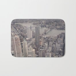 New York City from Above Bath Mat