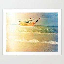 Sea Side Art Print