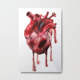 Heart Beat Metal Print