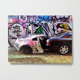 A Streetcar Named Lunch Metal Print