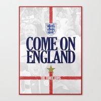 england Canvas Prints featuring England by liamhohoho