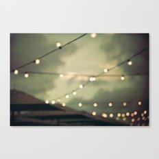 Sunset Pier Canvas Print