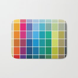 Colorful Soul - All colors together Bath Mat