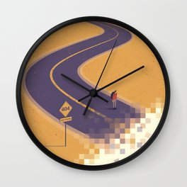 No path found Wall Clock
