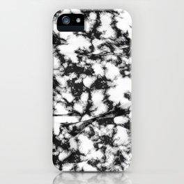 b&w spots iPhone Case