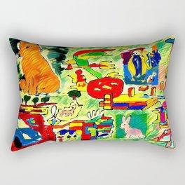 Stunned nature Rectangular Pillow