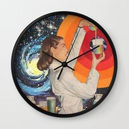 Science Fiction Wall Clock