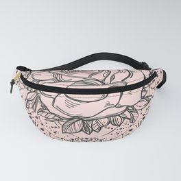 Night Rose Fanny Pack