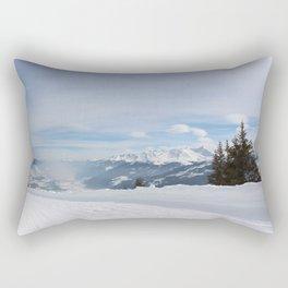 Wunderfull Snow Mountain(s) 8 Rectangular Pillow
