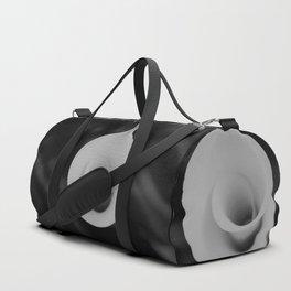 Calla lily flower unfolding Duffle Bag