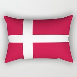 The flag of danmark Rectangular Pillow