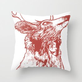 Last of Her Kind Throw Pillow