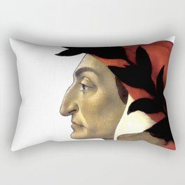 "Sandro Botticelli ""Dante Alighieri"" Rectangular Pillow"