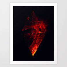 The Firestarter Art Print