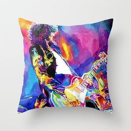 Watercolor my Jimmy Throw Pillow