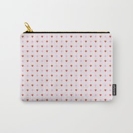Strawbae and Flowers Carry-All Pouch