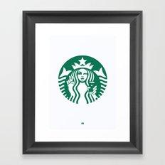 Selfie - 'Starbucks ICONS' Framed Art Print