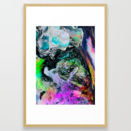 Abstract Melt III Framed Art Print