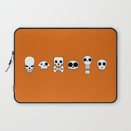 All skulls, all the time. Laptop Sleeve