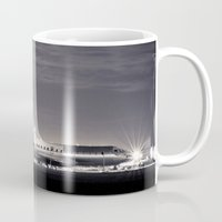 airplane Mugs featuring Airplane by Marose Photo