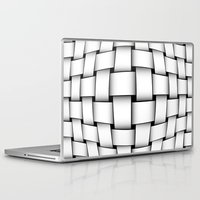 bands Laptop & iPad Skins featuring intertwined bands by siloto