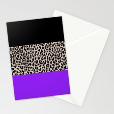 Leopard National Flag IX Stationery Cards