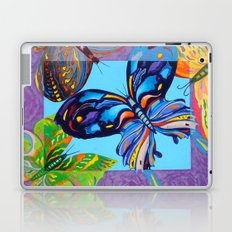 Butteflies are Free to Fly Laptop & iPad Skin