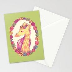 Lovely Giraffe 2 Stationery Cards