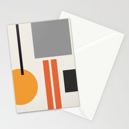 Mid Century 05 Stationery Cards